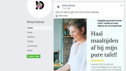 Lekker eten en lokale horeca steunen? Surf naar de Facebookpagina 'Afhaal Deinze'