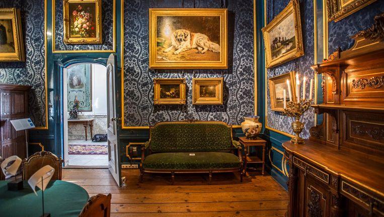 'We willen de kamers en ruimten weer terugbrengen in het huis zoals het was in 1896.' Beeld Eva Plevier