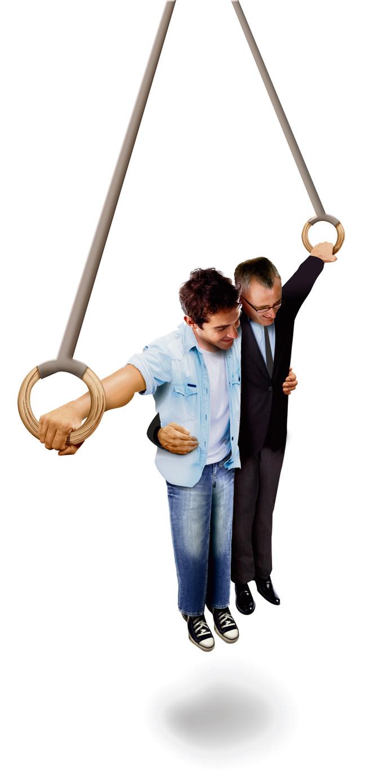 Behalve economische en sociale winst zorgt een teamsamenstelling met jonge en oudere werknemers voor continuïteit, terwijl kennisoverdracht vanzelfsprekender is.