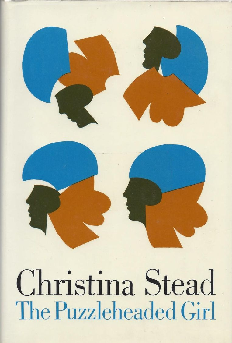 Christina Stead: The Puzzleheaded Girl. Ontwerp Milton Glaser, 1967.  Beeld