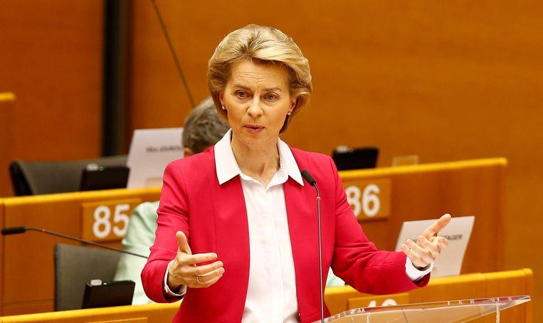 Europees Commissievoorzitter Ursula von der Leyen