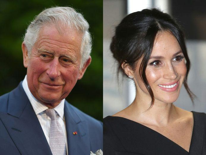 Prins Charles en Meghan Markle.