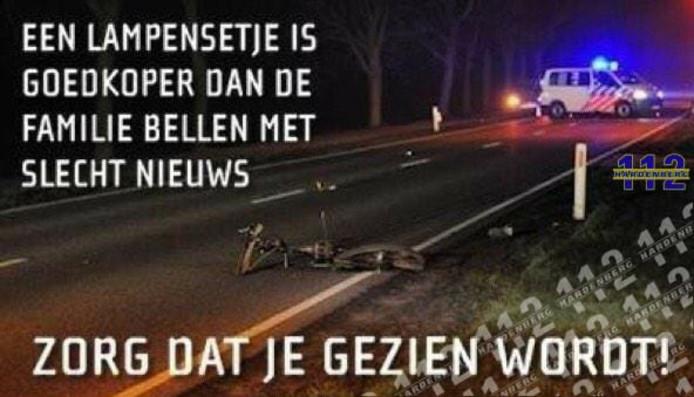 De oproep van de politie Nijmegen-Noord.