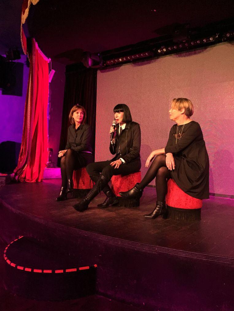 Chantal Thomass stelt collectie winter 2017 voor Damart voor in Parijs