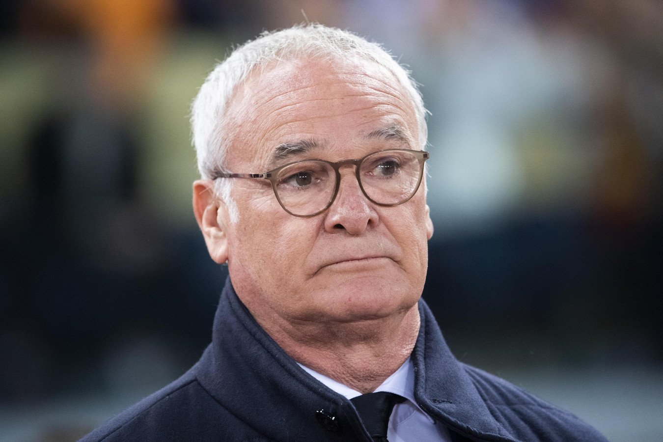 AS Roma-coach Claudio Ranieri.