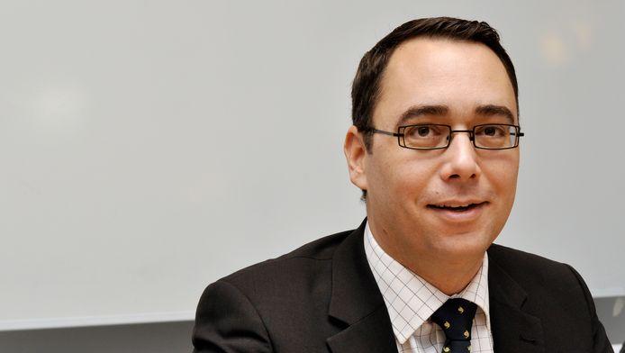 Maxime Prévot, burgemeester van Namen.