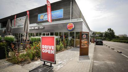 Heropening van drive-in Burger King verloopt rustig