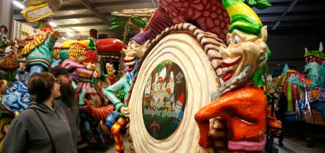 Wagenbouwers doen carnaval in Hulst nog eens voluit over