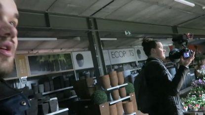 VIDEO. Nederlandse vloggers overnachten in tuincentrum Pelckmans en weigeren filmpje offline te halen