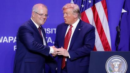 """Vroeg Trump hulp aan Australische premier om Mueller-onderzoek te counteren? """"President zocht enkel contactpunt"""""""