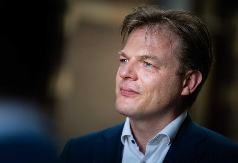 """Pieter Omtzigt (CDA): """"Ik wil ervoor zorgen dat de overheid er weer voor de mensen is en niet andersom."""" Beeld ANP"""