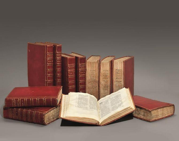 De Biblia Polyglotta komt na 450 jaar even terug naar Antwerpen.