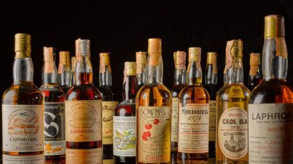 Sotheby's veilt grootste whiskycollectie ooit