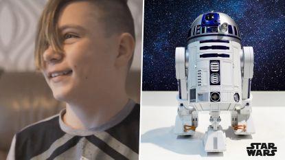 11-jarige krijgt 'Starwars'-bionische arm