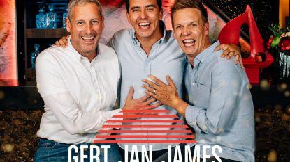 Beluister hier 'Altijd', de eerste single van Gert Verhulst, James Cooke & Jan Smit