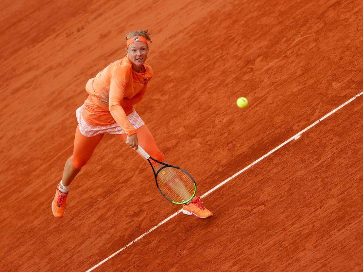 Bertens wint moeizame openingspartij Roland Garros