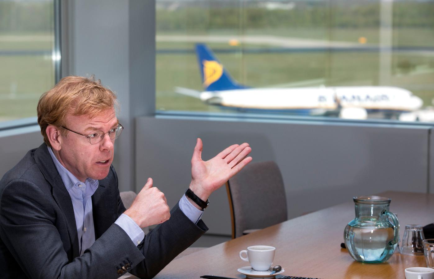 Algemeen directeur Joost Meijs van Eindhoven Airport