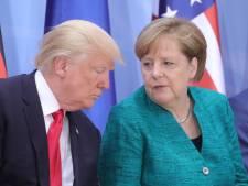 """Merkel aussi juge """"problématique"""" la suspension du compte Twitter de Trump"""