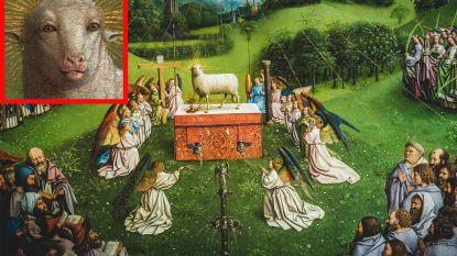 """Het """"angstaanjagend menselijk"""" Lam Gods van de gebroeders Van Eyck komt tot leven op Twitter"""