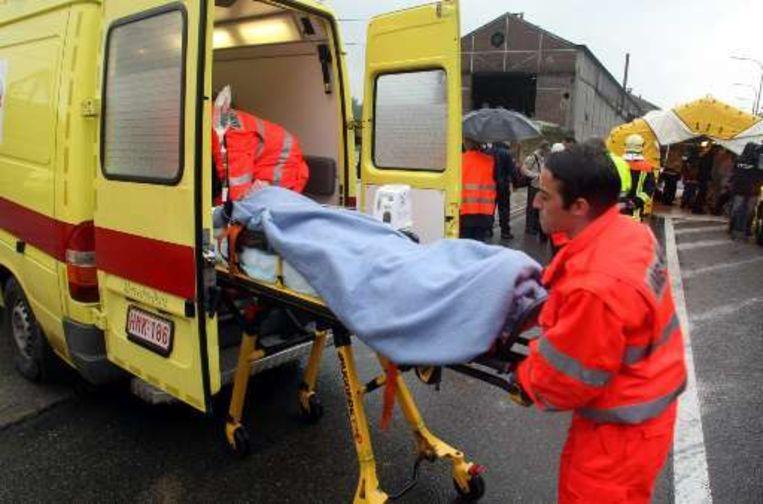 Zes gewonden moesten naar een ziekenhuis.