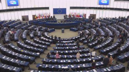 Minuut stilte in Europees Parlement voor slachtoffers aanslag Straatsburg
