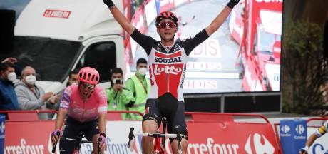 Le Belge Tim Wellens s'offre une deuxième victoire d'étape sur la Vuelta