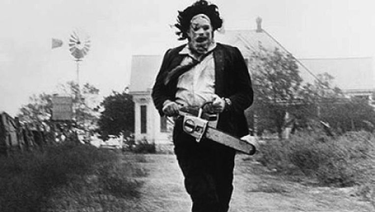 Leatherface in Texas Chainsaw Massacre Beeld still