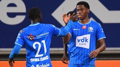 AA Gent start slap, maar maakt verschil na rust tegen Kortrijk