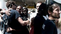 """Meerderheid van Fransen gekant tegen opvang """"Aquarius-vluchtelingen"""" in haven"""