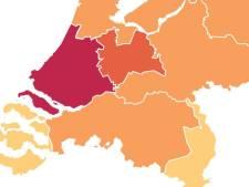In week tijd 79 nieuwe coronabesmettingen in Brabant gemeld, Zuid-Holland blijft grootste hotspot