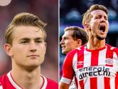 Was De Jong belangrijker voor PSV dan De Ligt voor Ajax?