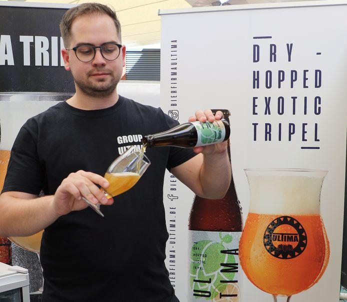 Andy Jans van bierfirma Ultima