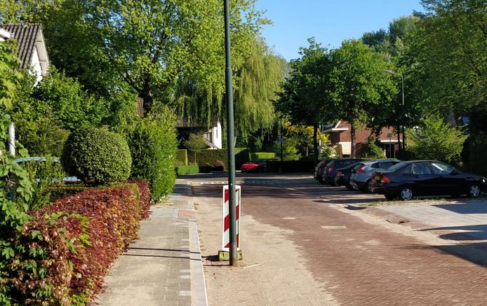 De Dokter Schräderlaan in Oisterwijk.