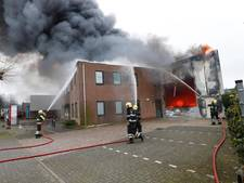 Sein Brand Meester bij bedrijfspand Aalst: nog altijd last van veel rook
