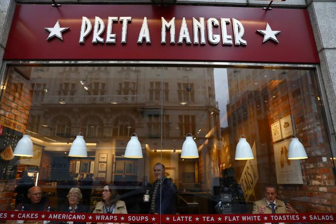 Een vestiging van Pret a manger in Londen.
