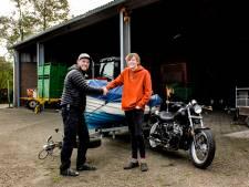 En toen was 'ruilkoning' Tom (21) uit Eibergen ineens de eigenaar van een boot