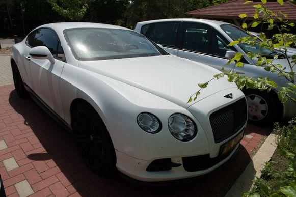 Lukaku's Bentley Continental GT.