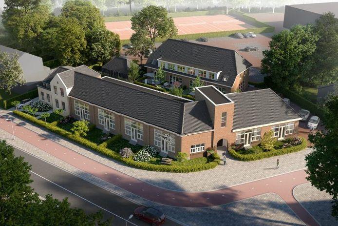 Hof van Terbregge. Wonen in de oudste school van Hillegersberg-Schiebroek