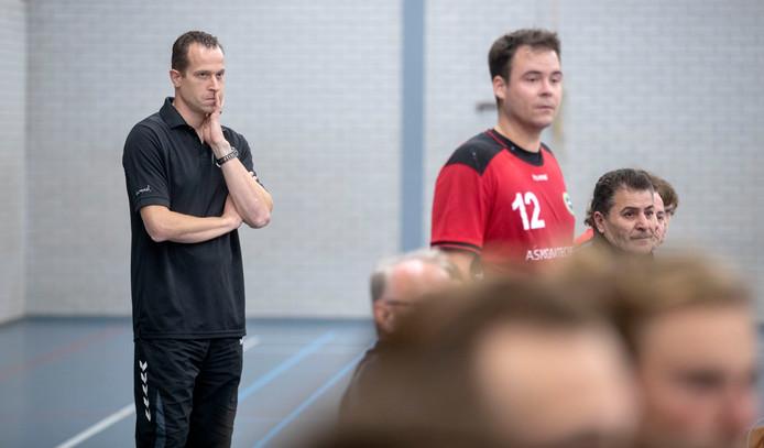 Sander Barents op archiefbeeld. De handballers van Reehorst boekten een mooie overwinning in Leeuwarden.