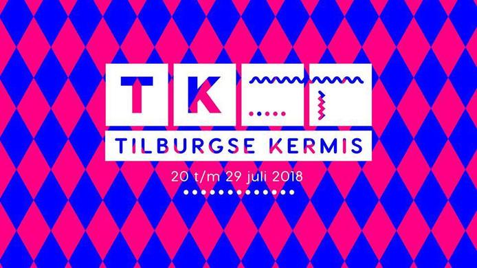 Het logo van de Tilburgse Kermis 2018.