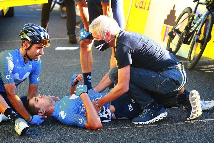 Prades was een slachtoffer van de veelbesproken valpartij in de Ronde van Polen.