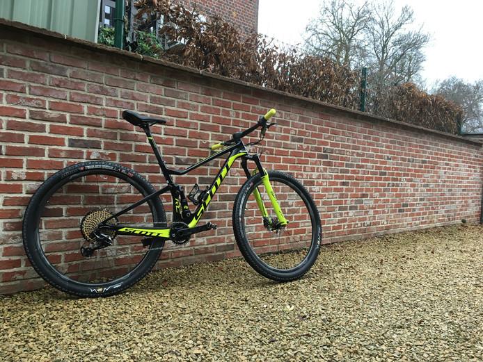 De mountainbike van Lotte Koopmans.