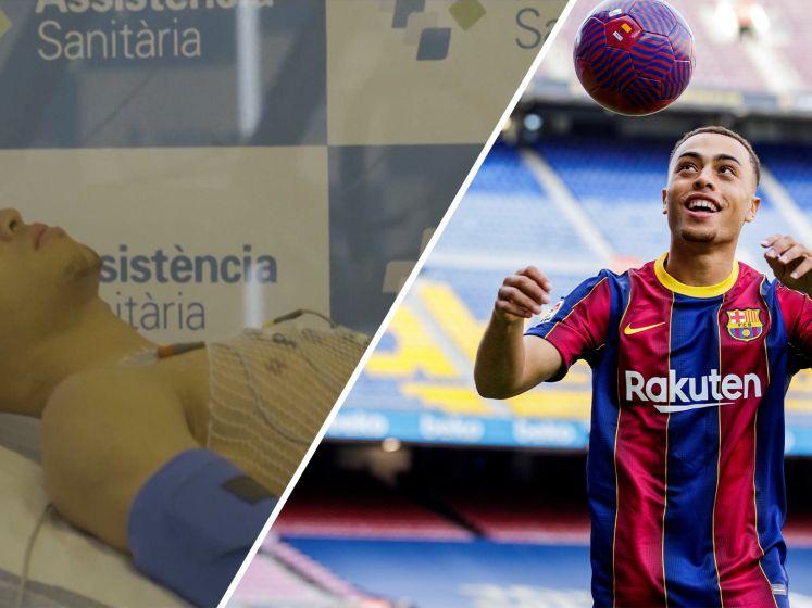 Laatste medische testen voor Dest bij FC Barcelona