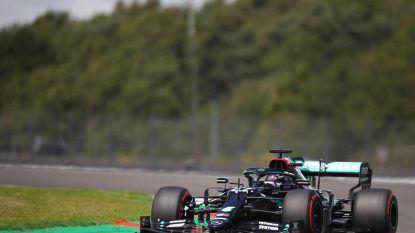 Mercedes domineert ook op Silverstone, Hamilton verovert in eigen land 91ste pole