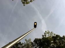Geen lichtpalen langs vrijliggend fietspad in Gameren