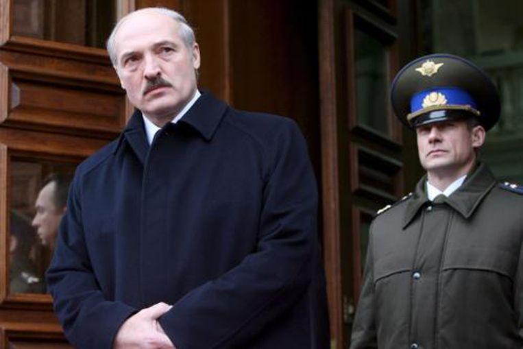 Alexander Loekasjenko, president van Wit-Rusland Beeld