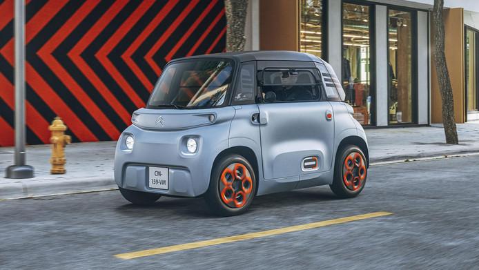 De nieuwe Citroën Ami komt in 2021 naar Nederland