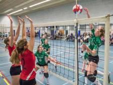 Na koude start pakken de volleybalsters van BOK weer eens een overwinning