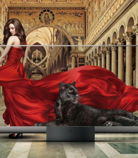 Chinese tv-fabrikant brengt eerste 'doorzichtige' televisie op consumentenmarkt
