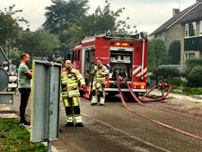 Brand in voormalig restaurant in De Meern